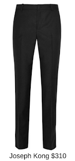 Sydney Fashion Hunter - She Wears The Pants - Joseph Kong Black Women's Work Pants