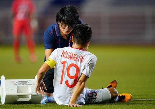 Mất Quang Hải, HLV Park dùng ĐH nào đấu Thái Lan?