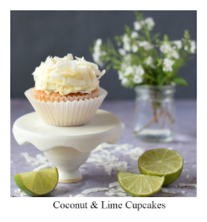 Our Coconut & Lime Cupcake recipe uses the tropical flavour combination to great effect.  They're easy to make, and perfect as a little family treat, shared with friends and work colleagues, or included in a charity bake sale.