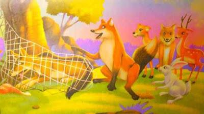Animals Leader Story in Hindi