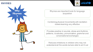 6 steps of reciting Rhymes in the English Nali-Kali classroom
