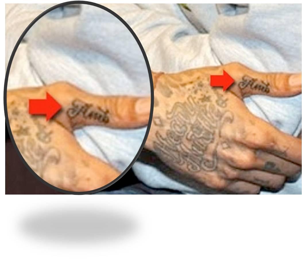 Celebrity Wardrobe Malfunction: taino tattoos