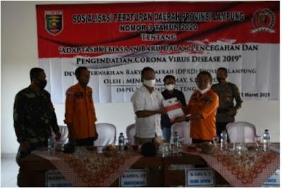 Mingrum Gumay Bantu Upaya Pemerintah Atasi Pandemi Covid-19