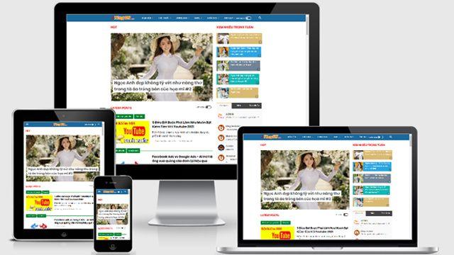 Template Blogger Cá Nhân Tuyệt Đẹp Mà Yingvn Đang Sử Dụng