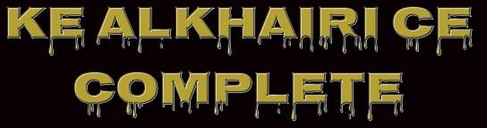 KE ALKHAIRI CE COMPLETE