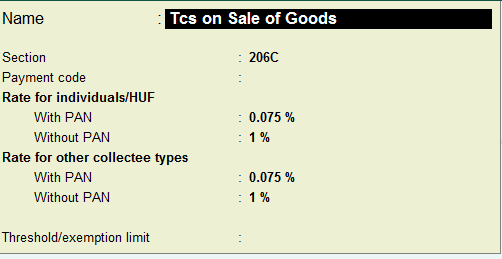 TCS-on-Goods-and-set-Tax-Rate