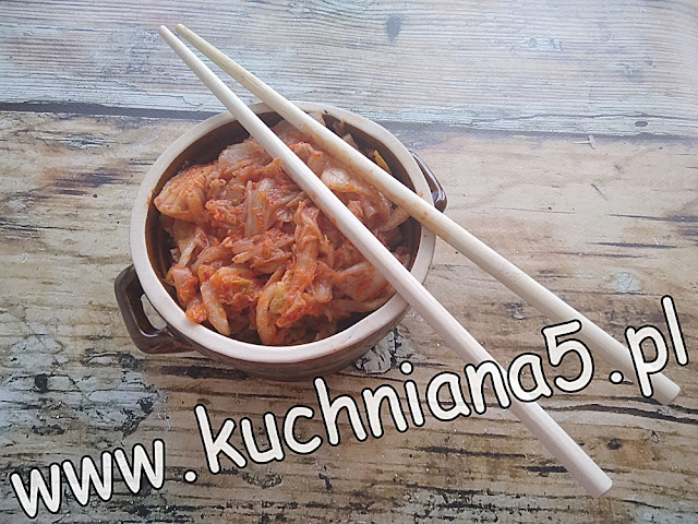 koreański kimchi