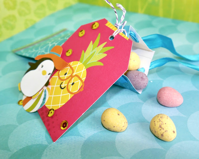 Gift Box Party by Katherine Sutton using BoBunny Make a Splash