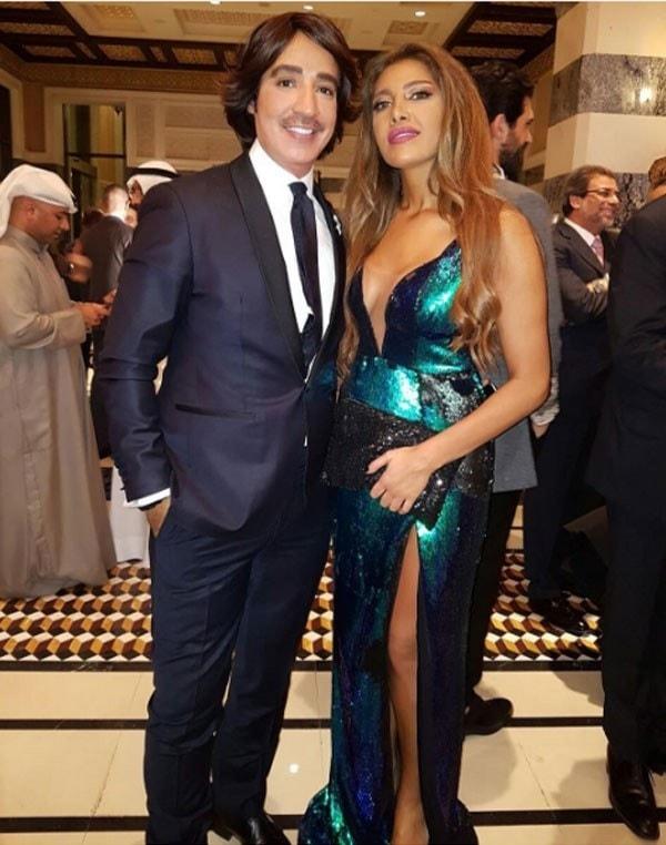 ريهام حجاج  تشارك فى افتتاح مهرجان دبى السينمائى
