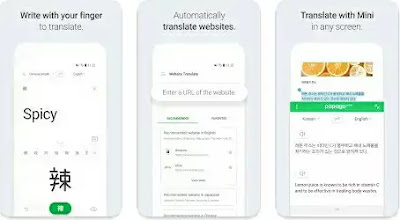Aplikasi Terjemah - Naver Papago Translate