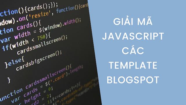 Hướng dẫn giải mã các template blogspot