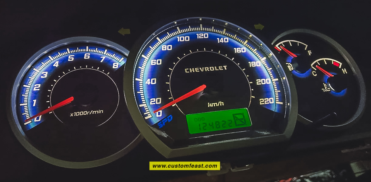 chevrolet optra speedometer