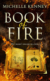 Book of Fire by Michelle Kenney cover