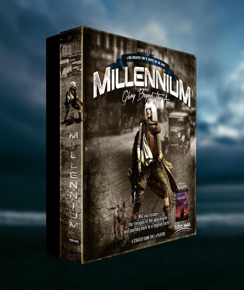 Millennium Boardgame's New Box Design . . . Here's the Lesson