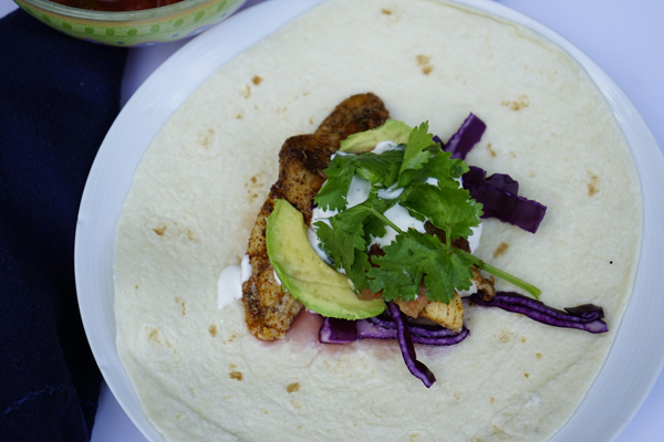 Fish Tacos Recipe With Cabbage, Salsa and an Easy Sauce