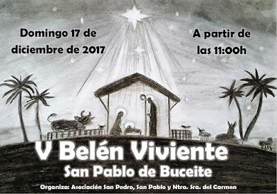 Belén Viviente 2017 - San Pablo de Buceite