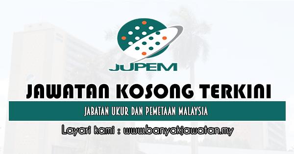 Jawatan Kosong Kerajaan 2020 di Jabatan Ukur Dan Pemetaan Malaysia