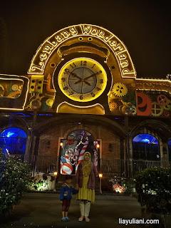 Pintu masuk Lembang Wonderland