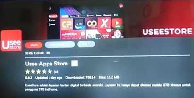 Usee Store Gagal Update