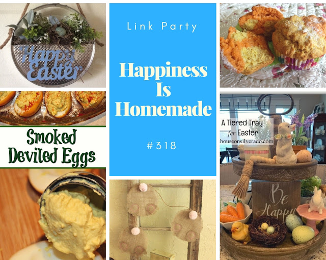 Happiness Is Homemade.Share NOW.  #happinessishomemade #eclecticredbarn #linkyparty