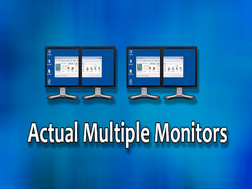 Actual Multiple Monitors
