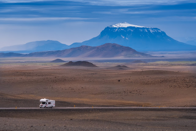 Motorhome Iceland rental advantages scenic views