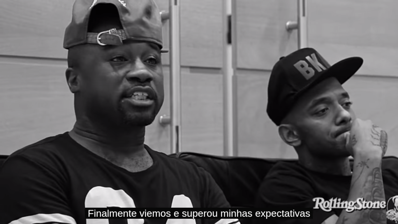 Entrevista do Mobb Deep no Brasil [Vídeo com legenda]