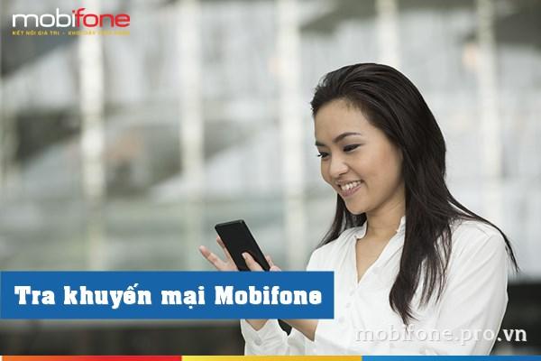 Tổng hợp cách kiểm tra khuyến mãi Mobifone 2017