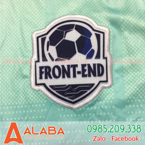 Thêu logo lên áo bóng đá