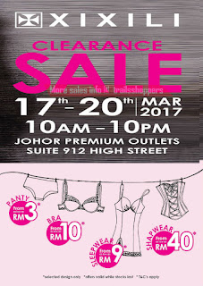 XIXILI Clearance Sale Johor
