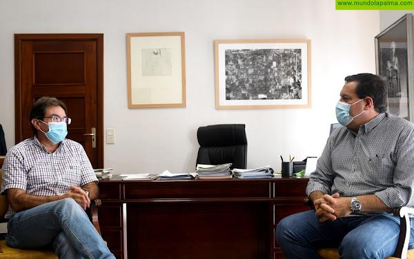 El Cabildo y el ICCA cooperan para impulsar la competitividad de los productos agroalimentarios de La Palma