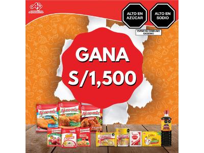GANA S/1,500 CON AJINOMOTO