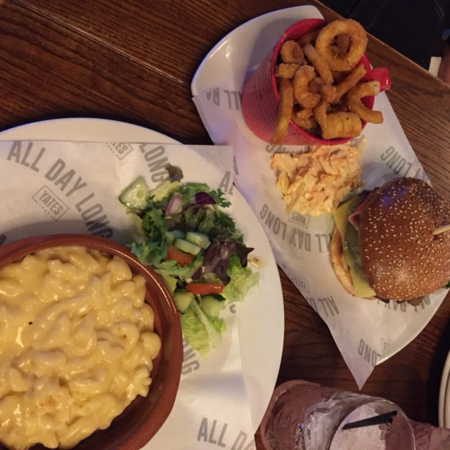 Yates Hull Menu Review