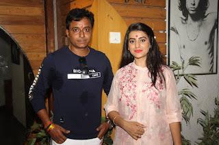 Akshara Singh and Amrish Singh