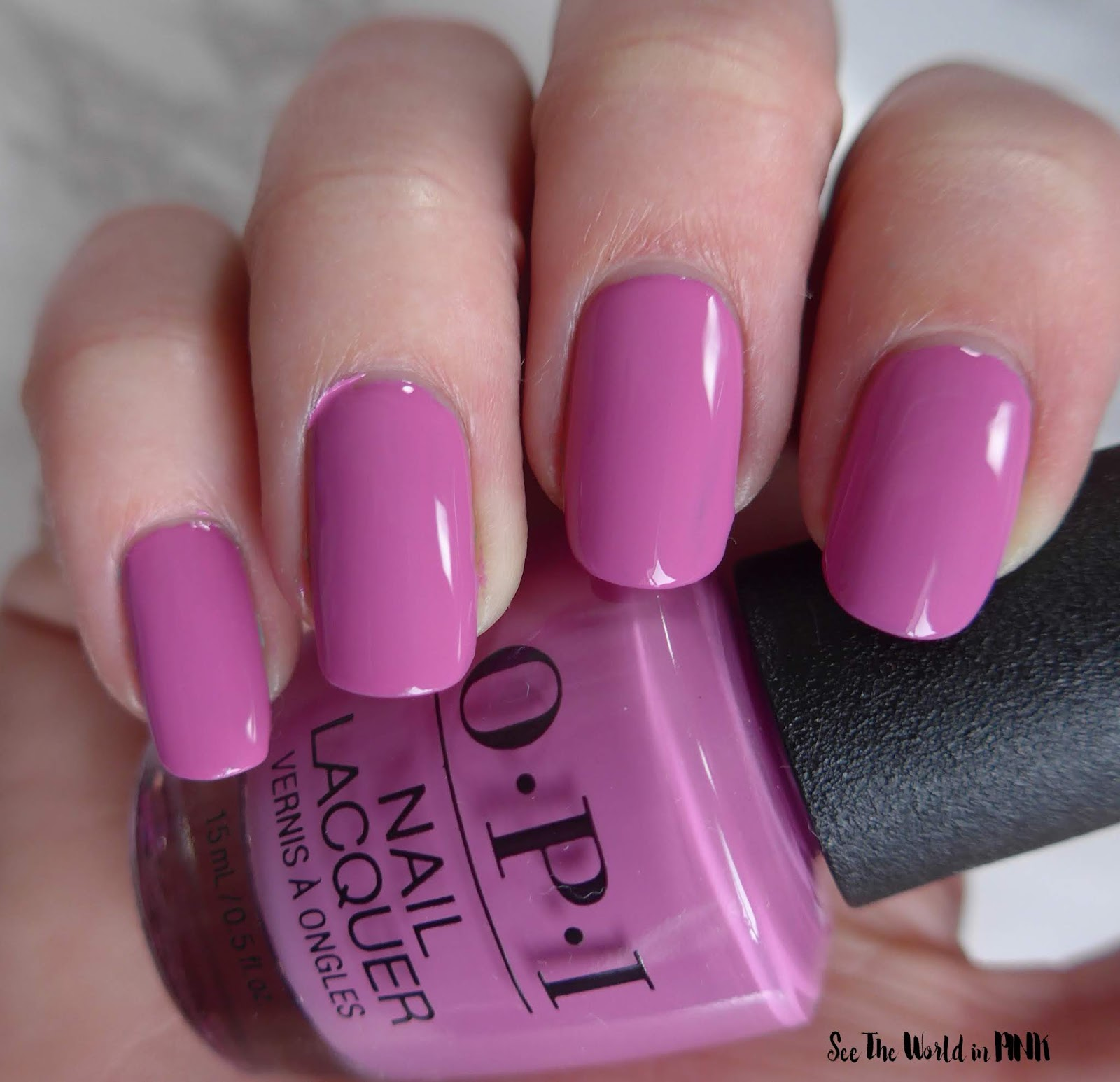 Manicure Monday - OPI Tokyo Collection for Spring and Summer 2019 Arigato From Tokyo