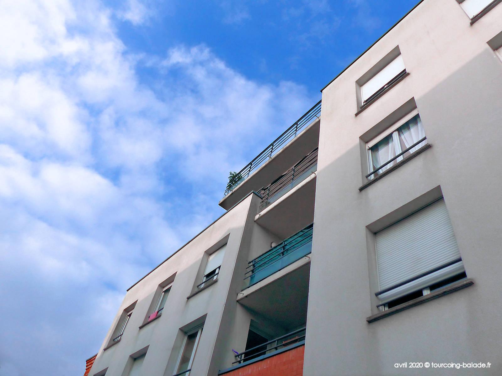 Rue du Flocon, Tourcoing - Résidence City & Park - 2020