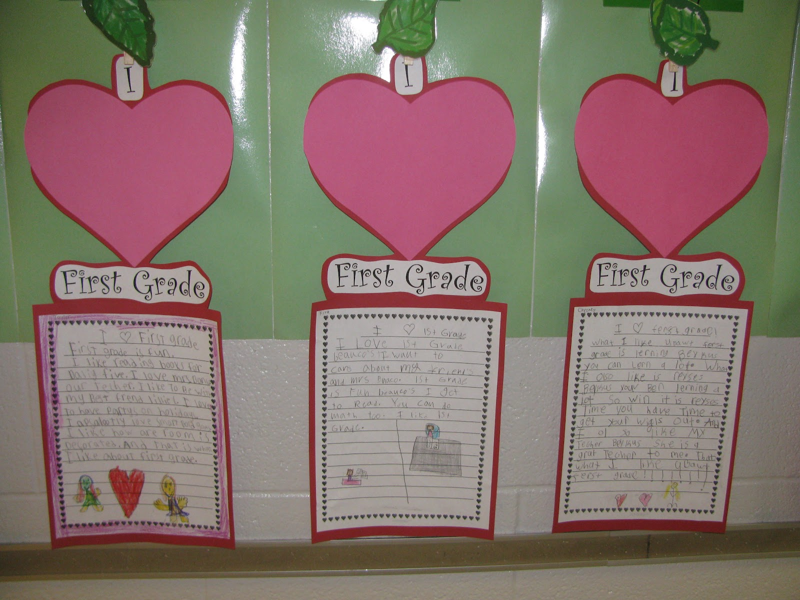 Simply Sweet Teaching I Heart 1st Grade Happy Valentine S Day
