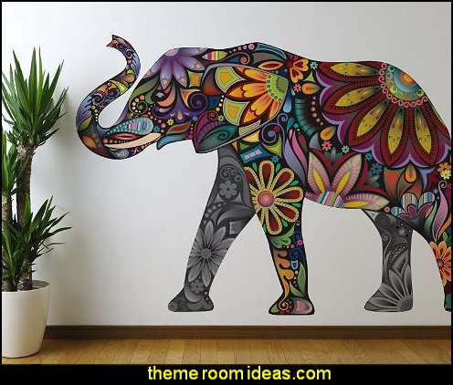 My Wonderful Walls Elegant Elephant Wall Sticker