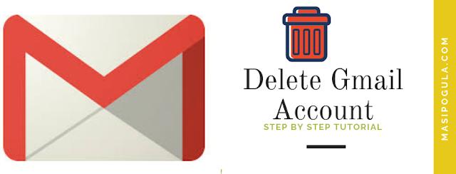 Delete a  Google Gmail Account