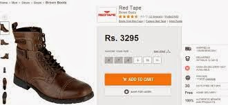 Red Tape Shoes Online Shopping With Discount