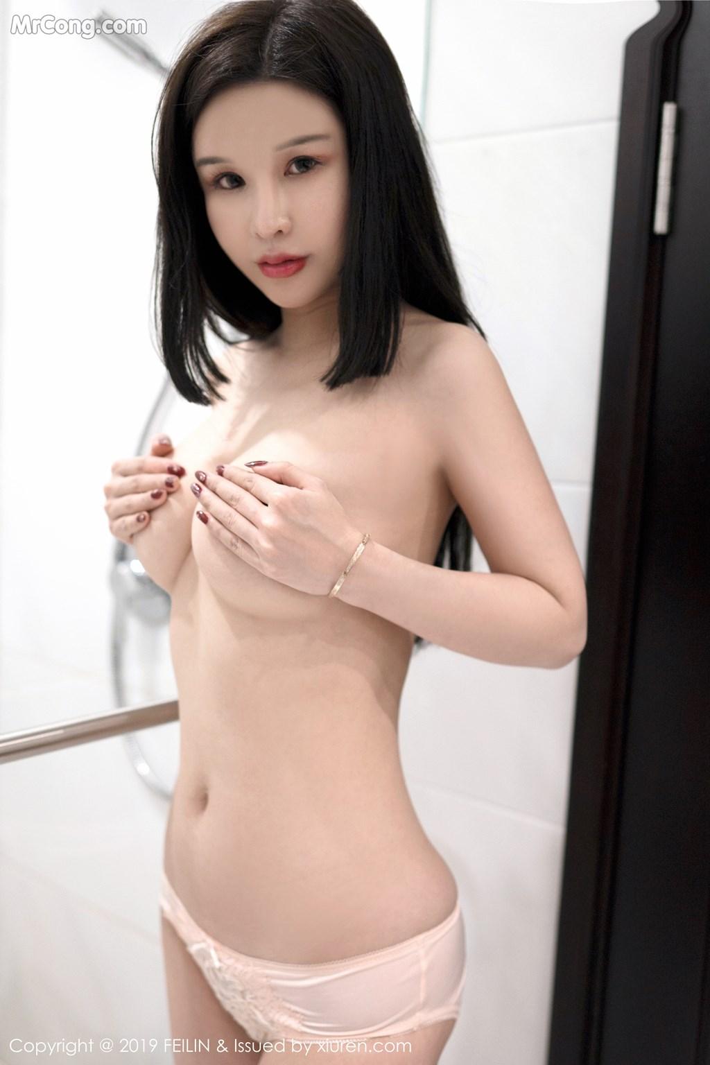Image FEILIN-Vol.184-Zhang-Yu-Meng-MrCong.com-009 in post FEILIN Vol.184: Zhang Yu Meng (张雨萌) (41 ảnh)