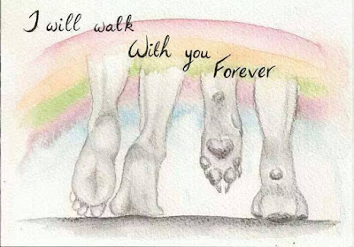 I will walk with you . . .