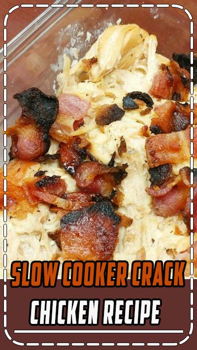 Have a busy night ahead of you? Make Slow Cooker Crack Chicken (THM:S, Low Carb, Ketogenic) in less than 5 minutes in the morning + 10 minutes at night! #keto #ketogenic #trimhealthymama #ketogeniclifestyle #ketocommunity #lowcarb #slowcooker