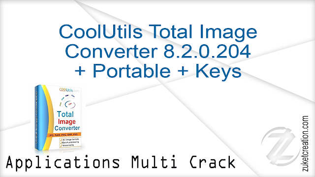 CoolUtils Total Image Converter 8.2.0.204 + Portable + Keys    |  67 MB