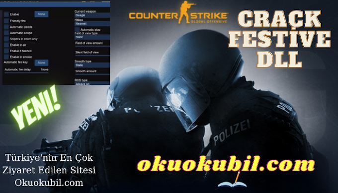 CS GO 1.6 Crack festive, technology ragebot, legitbot, skins, configs Son Sürüm