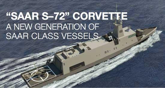 DEFENSE STUDIES: Israel Introduces 72m Mini-Corvette Design