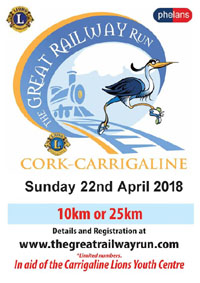 Race from Cork City to Carrigaline via Monkstown...Sun 22nd Apr 2018
