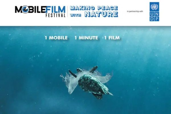 """Mobile Film Festival: one-minute films to """"make peace with nature"""""""
