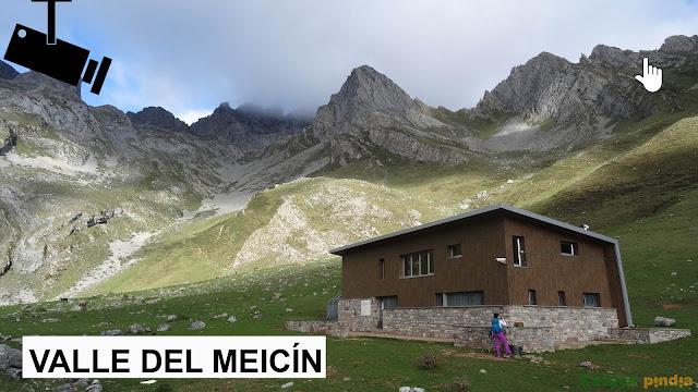 Webcam del Refugio del Meicín en el Parque Natural de Ubiñas La Mesa
