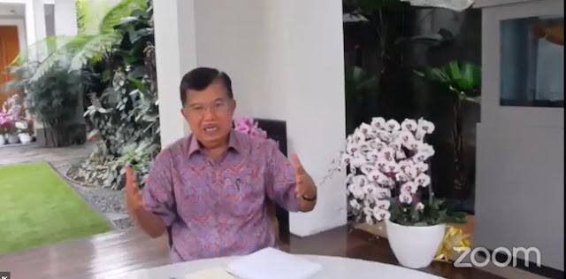 Jusuf Kalla: Jangan Coba-coba Longgarkan PSBB, Korbannya Pasti Banyak!
